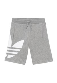 adidas Originals - Tracksuit bottoms - mgreyh/white - 0