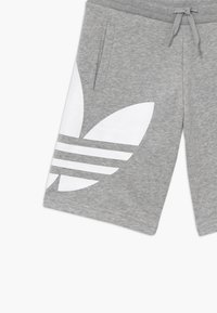 adidas Originals - Tracksuit bottoms - mgreyh/white - 3