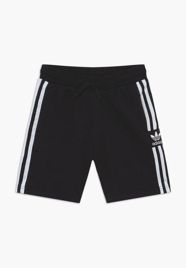 LOCK UP - Pantaloni sportivi - black/white