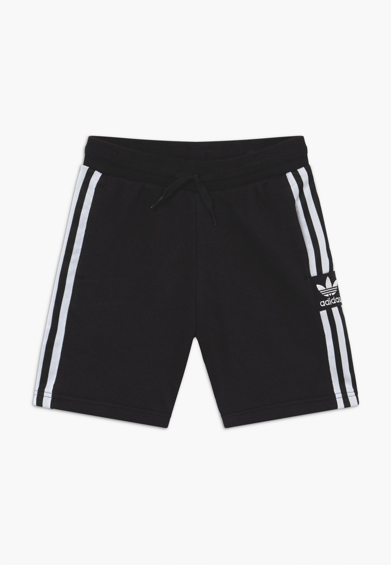 adidas Originals - LOCK UP - Tracksuit bottoms - black/white