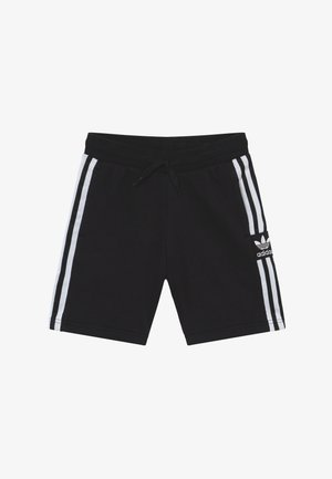 LOCK UP - Tracksuit bottoms - black/white
