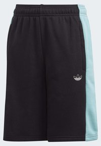 adidas Originals - PANEL SHORTS - Shorts - black - 3