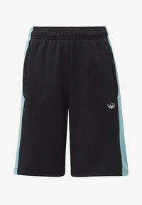 adidas Originals - PANEL SHORTS - Shorts - black - 0