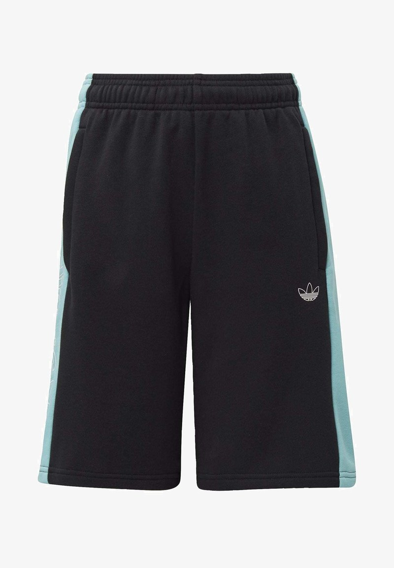 adidas Originals - PANEL SHORTS - Shorts - black