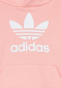 adidas Originals - TREFOIL HOODIE SET - Trainingspak - glow pink/white - 3