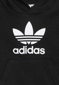 adidas Originals - TREFOIL HOODIE SET - Trainingsanzug - black/white - 5