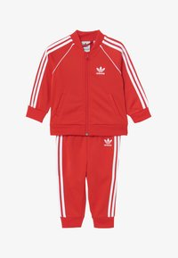 adidas Originals - SUPERSTAR SET - Collegetakki - lusred/white