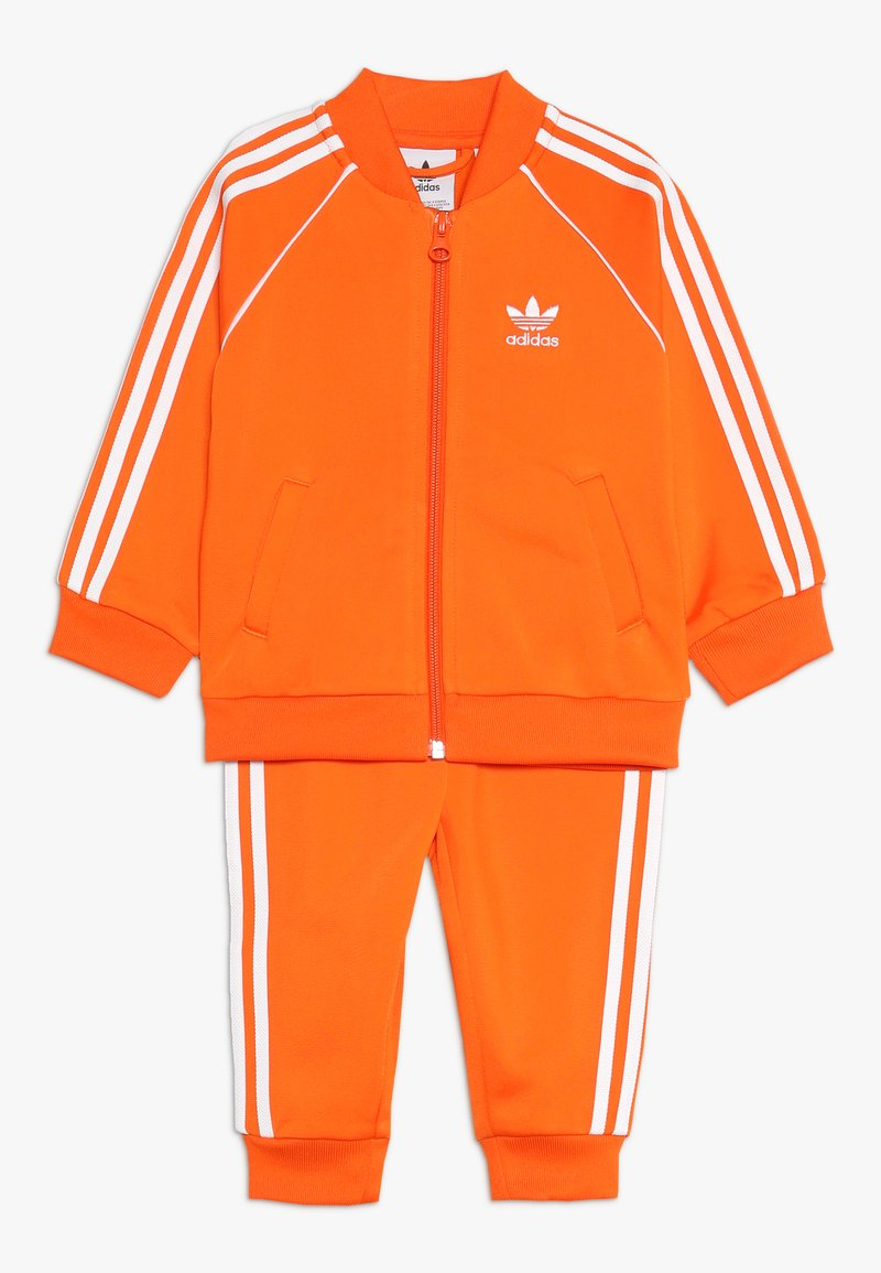 adidas Originals - SUPERSTAR SUIT - Training jacket - orange/white