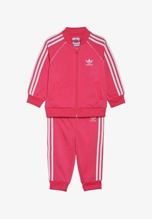 SUPERSTAR SET - Zip-up hoodie - pink/white