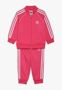 adidas Originals - SUPERSTAR SUIT SET - Tracksuit - pink/white - 0