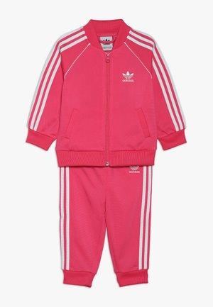 SUPERSTAR SET - Hoodie met rits - pink/white