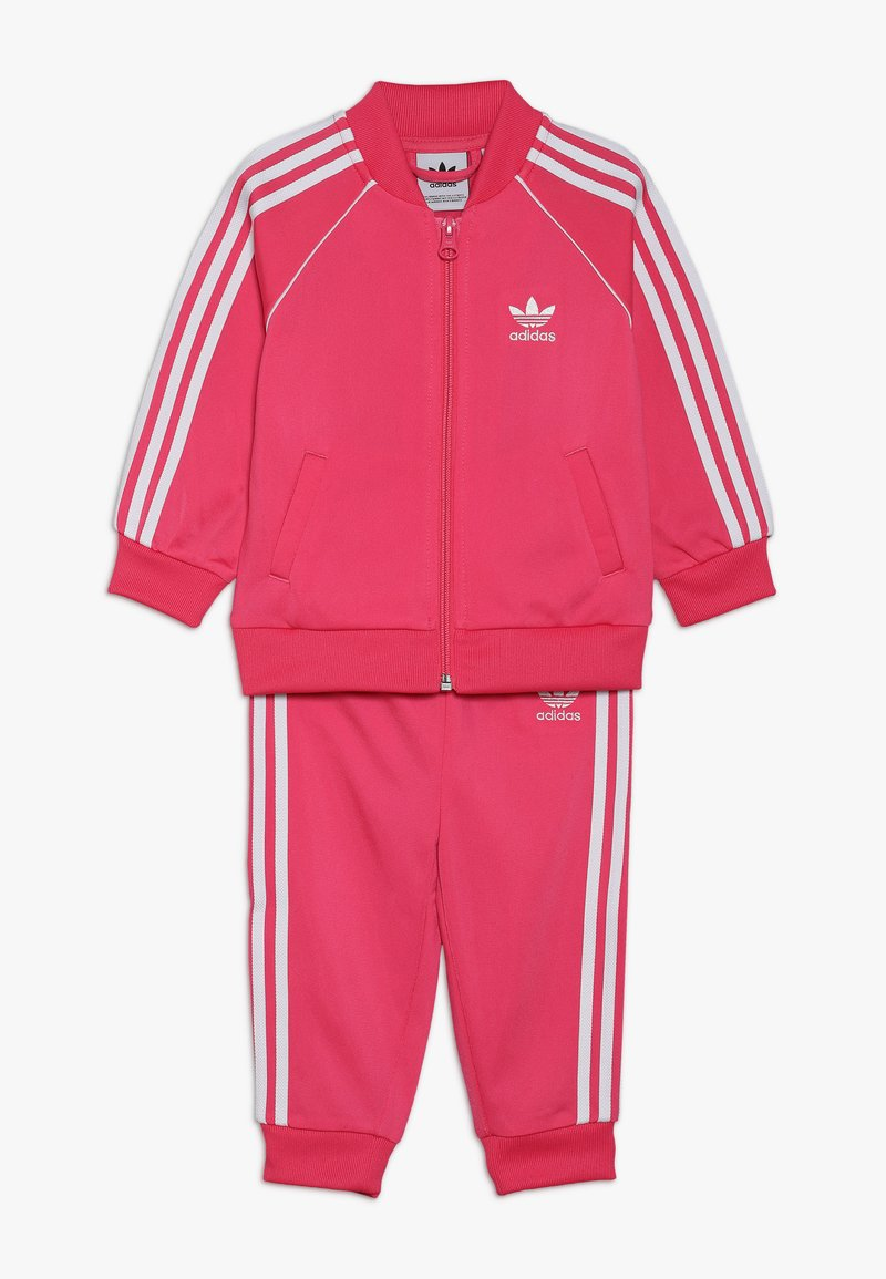adidas Originals - SUPERSTAR SUIT - Trainingsvest - pink/white
