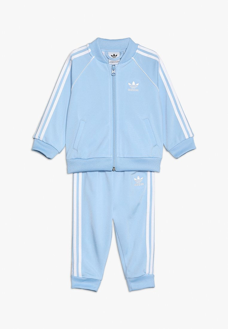adidas Originals - SUPERSTAR SUIT SET - Trainingspak - clear sky/white