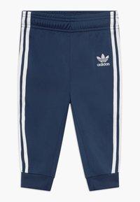 adidas Originals - SUPERSTAR SET - Huvtröja med dragkedja - dark blue, white - 2