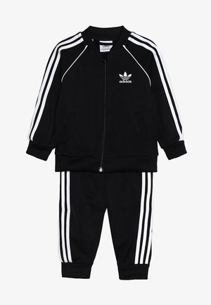 SUPERSTAR SET - Sweatjacke - black/white