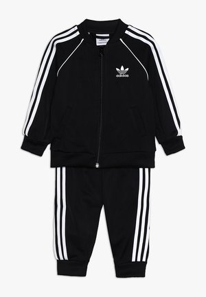 SUPERSTAR SET - veste en sweat zippée - black/white