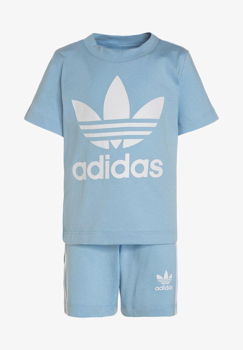 adidas Originals - TEE SET - Shorts - clesky/white