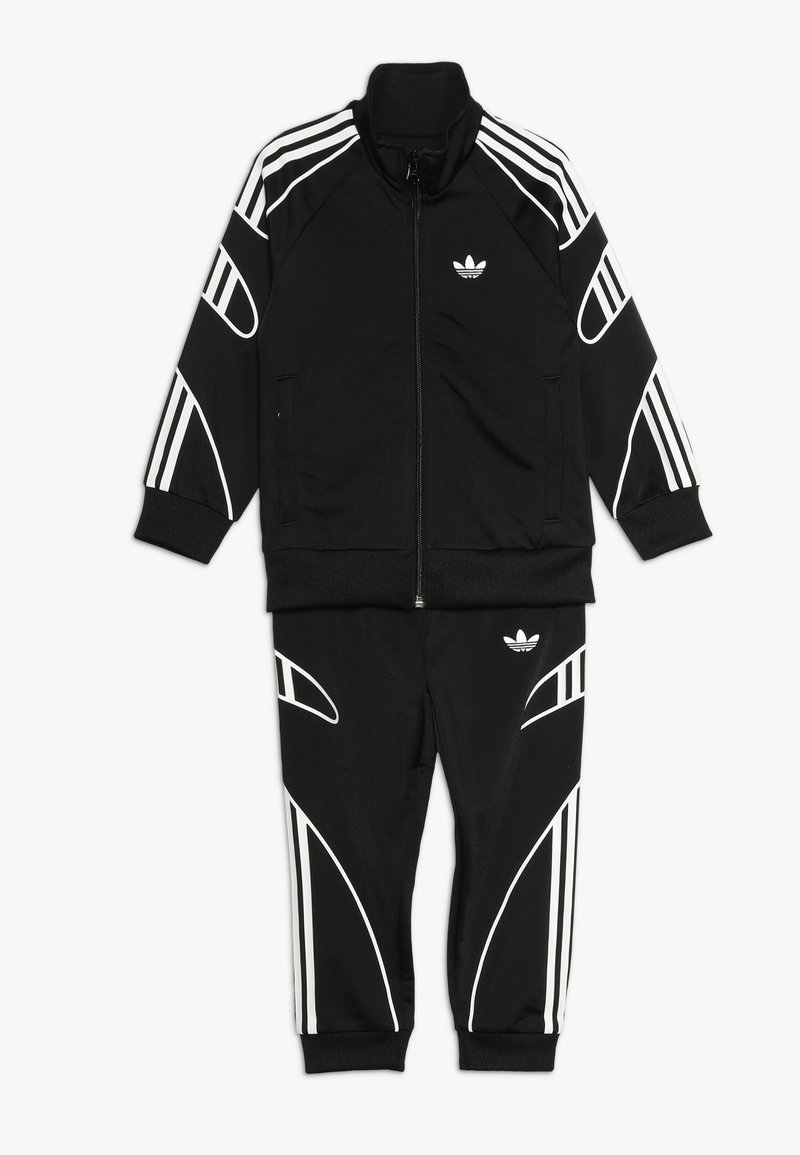 adidas Originals - FLAMESTRK - Trainingsjacke - black/white