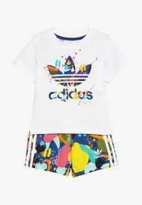 adidas Originals - SHORT SET - Pantalon classique - white/multicolor - 4