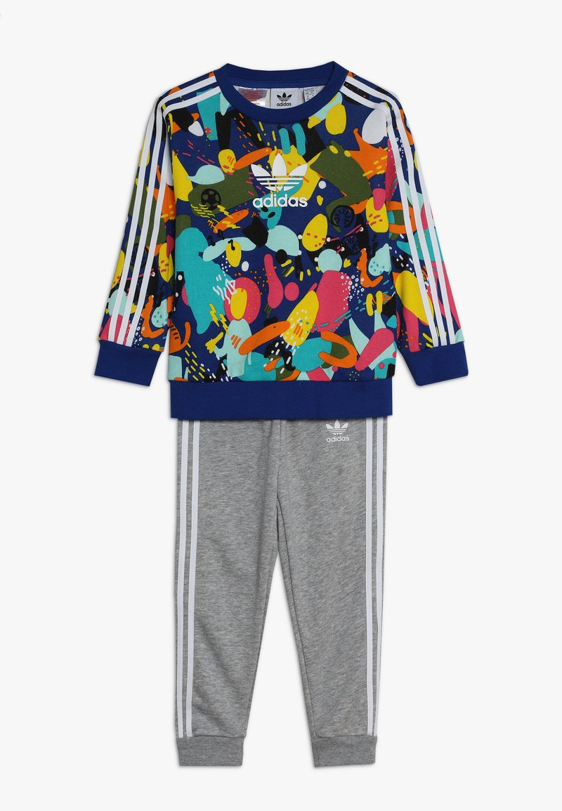 adidas Originals - CREW SET - Pantalones deportivos - multi-coloured/white