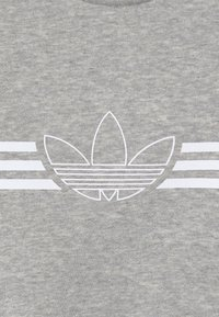 adidas Originals - OUTLINE CREW - Survêtement - grey/white - 6