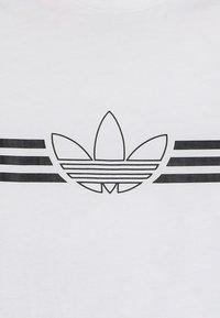 adidas Originals - OUTLINE TEE SET - Triko spotiskem - white - 5