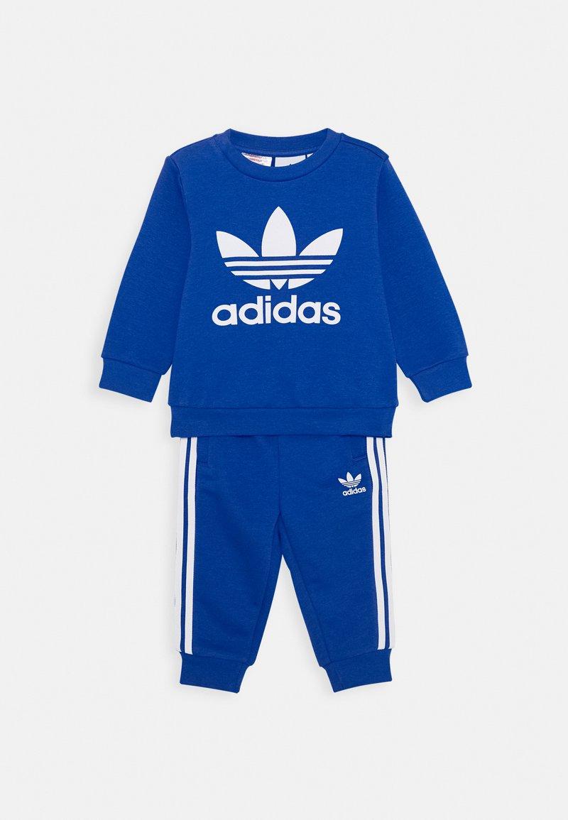 adidas Originals - CREW SET - Sweater - royal blue/white