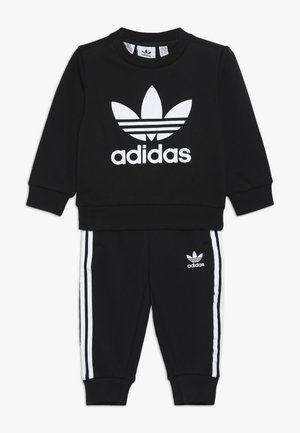 CREW SET - Tracksuit - black/white