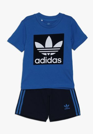 SHORT TEE SET - Short - blue/collegiate navy/white