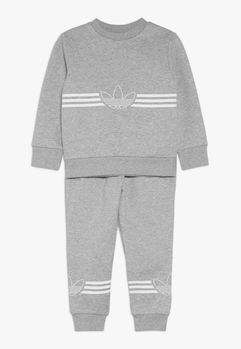 adidas Originals - OUTLINE CREWNECK SET - Trainingspak - grey