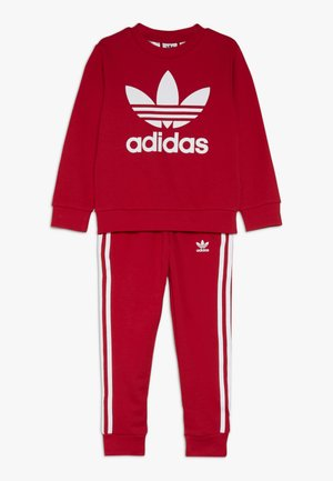 CREW SET - Survêtement - scarlet/white