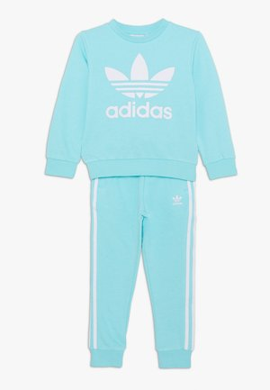 CREW SET - Tracksuit - clear aqua/white