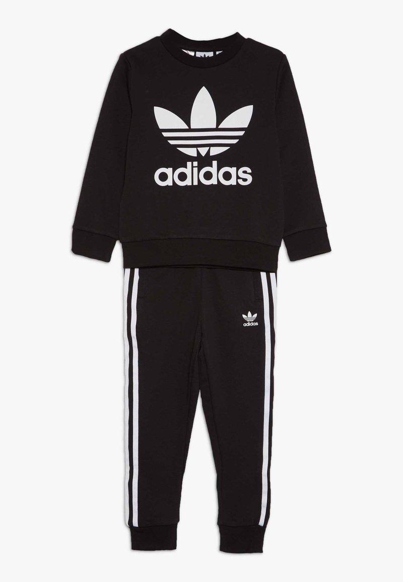 adidas Originals - CREW SET - Survêtement - black