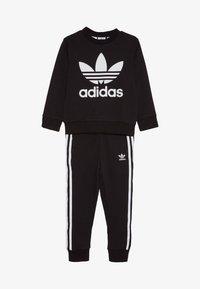 adidas Originals - CREW SET - Survêtement - black - 3