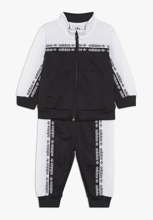 TRACKSUIT - Training jacket - black/white