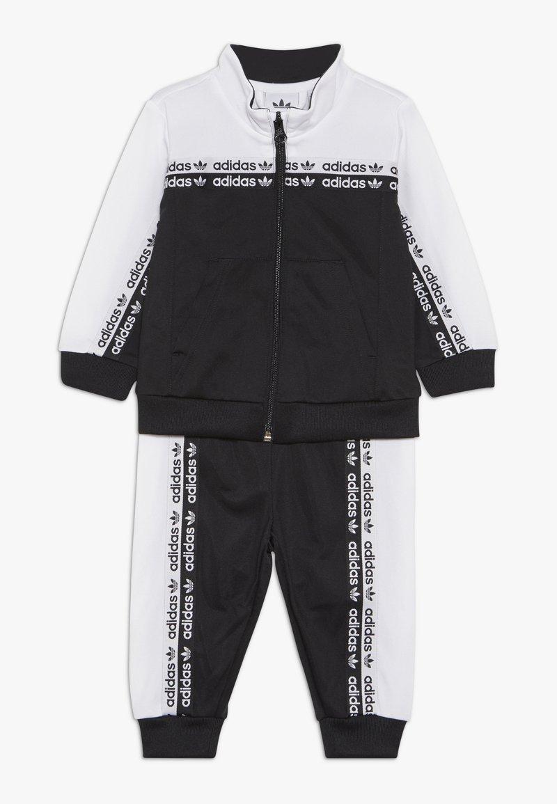 adidas Originals - TRACKSUIT - Chaqueta de entrenamiento - black/white