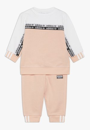 CREW SET - Sweater - glow pink/white