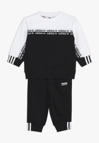 adidas Originals - CREW SET - Sweatshirt - black/white - 0