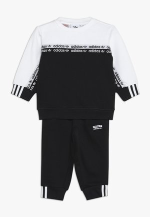 CREW SET - Sweatshirt - black/white