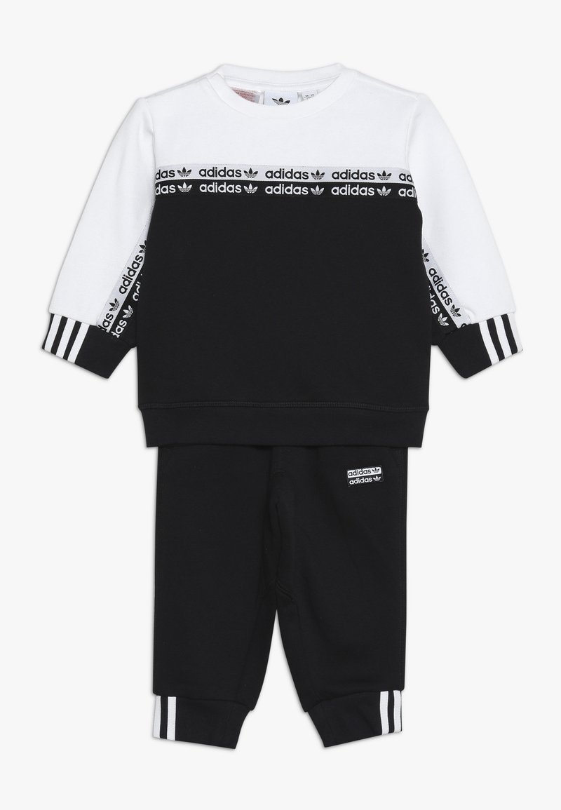 adidas Originals - CREW SET - Sweater - black/white