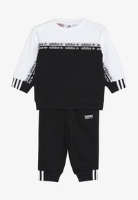 adidas Originals - CREW SET - Sweatshirt - black/white