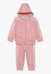 adidas Originals - LOCK UP HOODIE SET - Treningsdress - light pink - 0