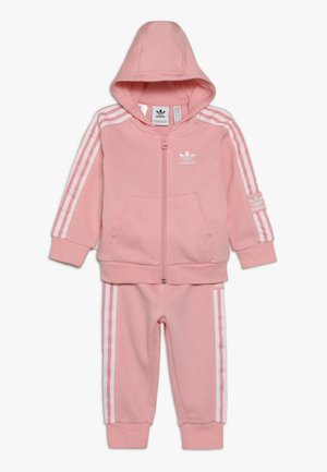 LOCK UP HOODIE SET - Dres - light pink