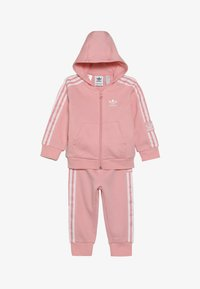 adidas Originals - LOCK UP HOODIE SET - Trainingspak - light pink