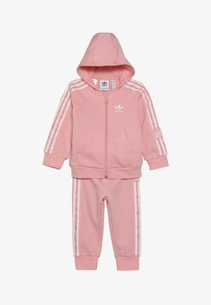 LOCK UP HOODIE SET - Tracksuit - light pink