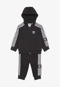 adidas Originals - LOCK UP HOODIE SET - Tracksuit - black/white - 3