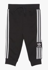 adidas Originals - LOCK UP HOODIE SET - Träningsset - black/white - 2