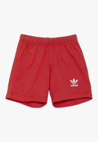adidas Originals - BIG TREFOIL SET - Pantaloni - lusred/white - 2