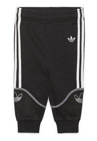 adidas Originals - OUTLINE FZ HOOD - Sudadera con cremallera - black/white - 2