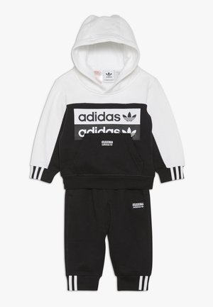 HOODIE SET - Sweat à capuche - black/white